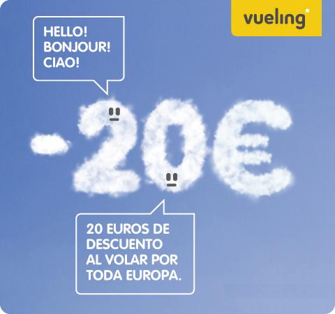 Descuento 20 euros Vueling