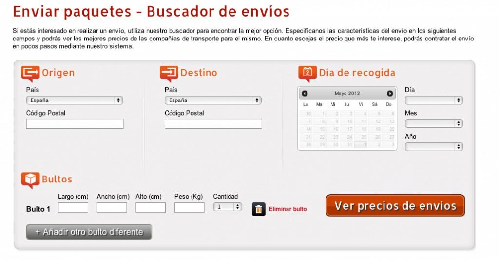 Infoenvia.com  - Encuentra la mejor oferta para tu envío