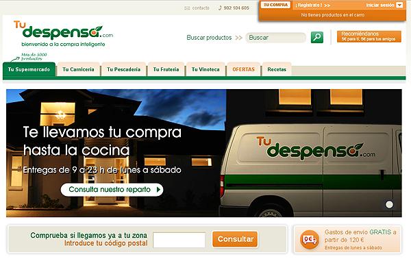 Supermercado online TuDespensa